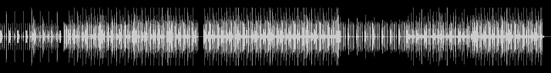 ハウスドラム音源、宣伝・紹介動画などにの未再生の波形
