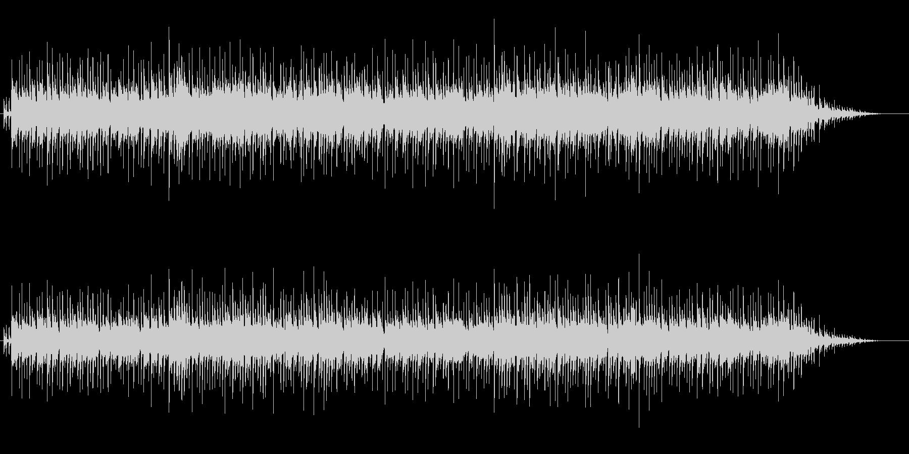 リラックスできるムード音楽の未再生の波形