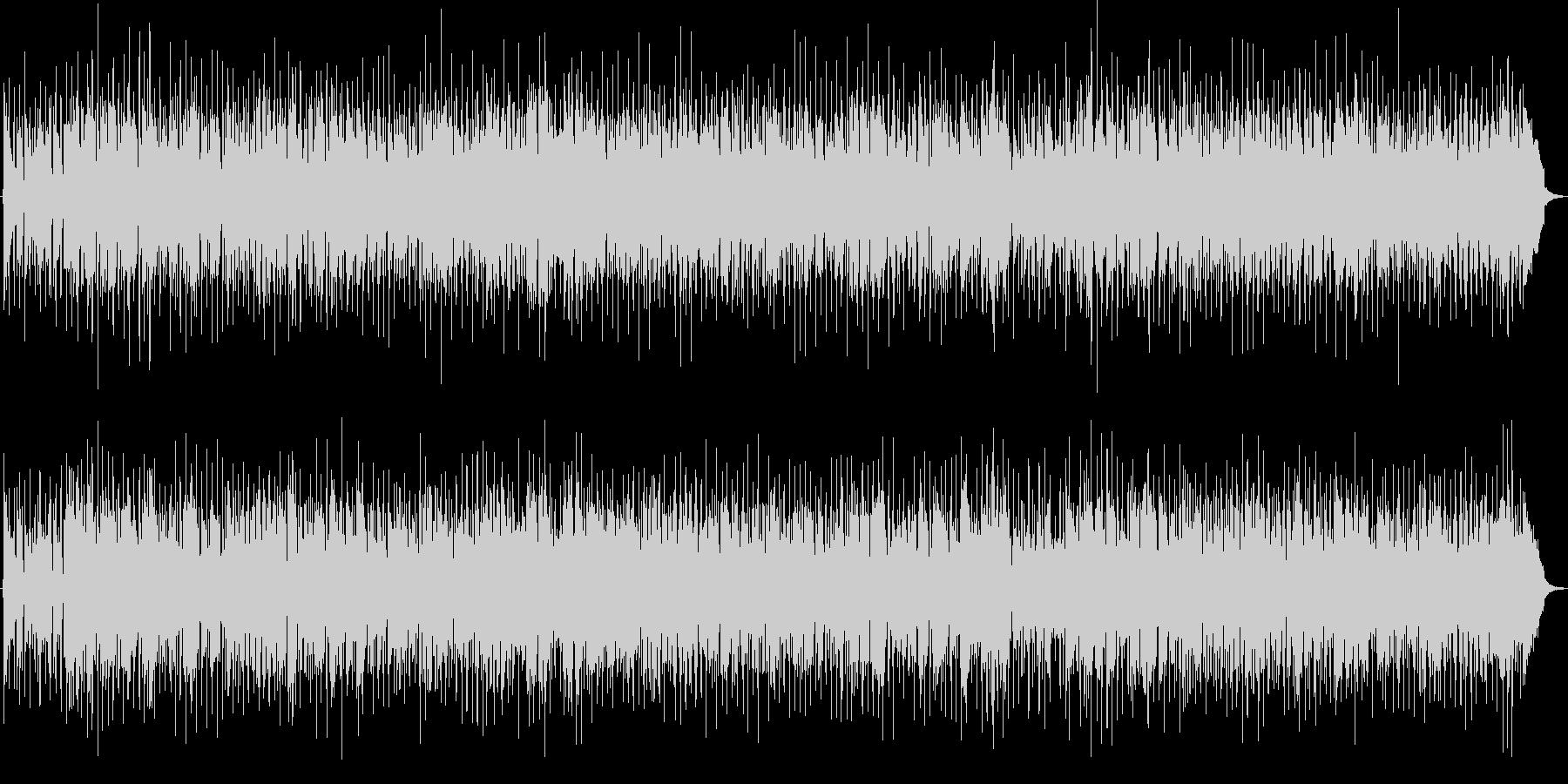ほのぼのしたポップスBGMの未再生の波形
