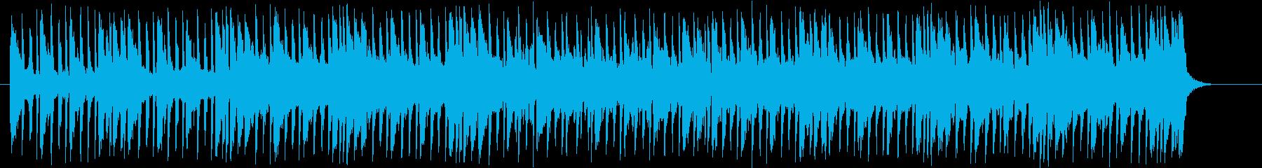 メローで軽快なシンセサウンドの再生済みの波形