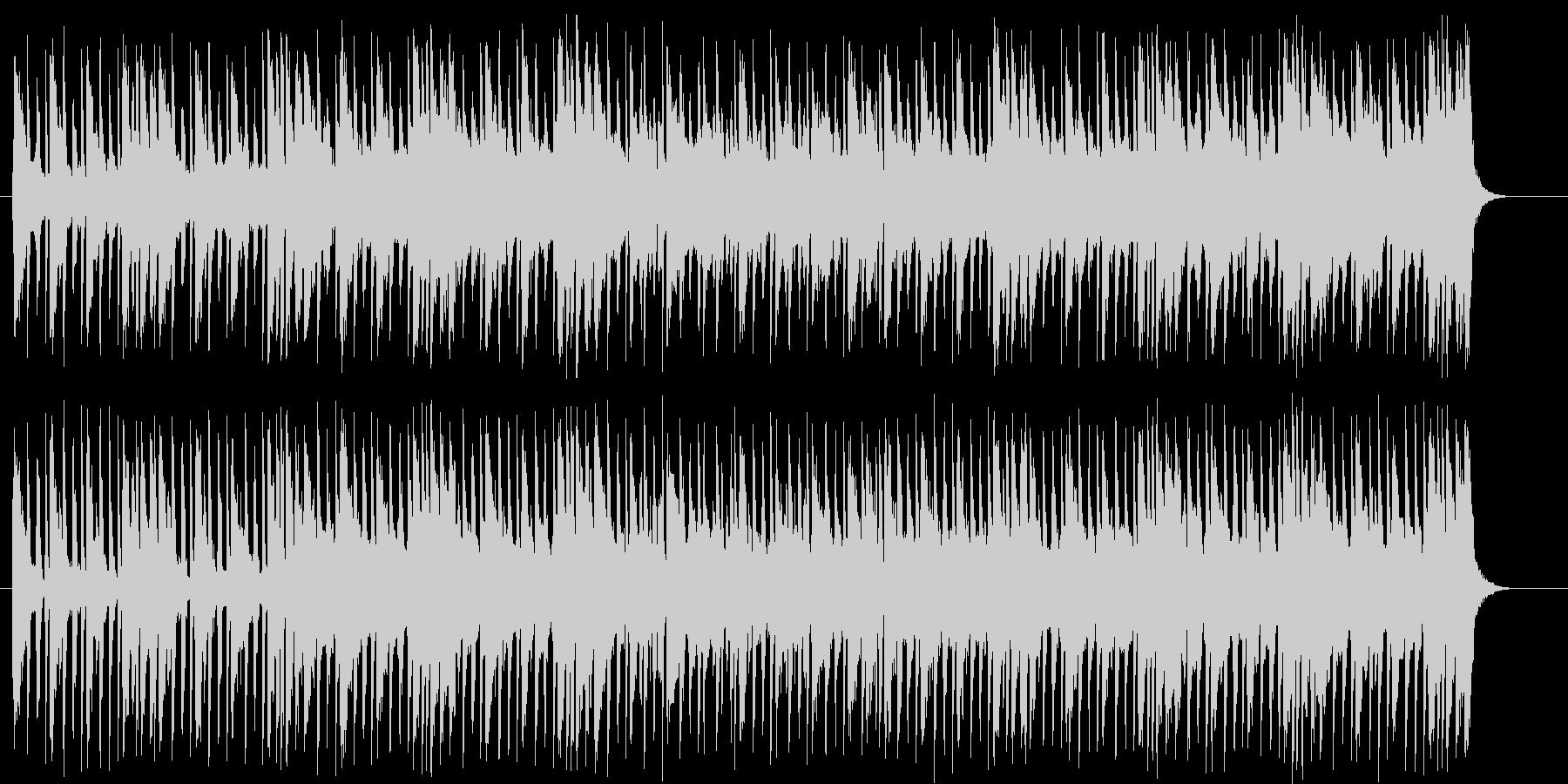 メローで軽快なシンセサウンドの未再生の波形