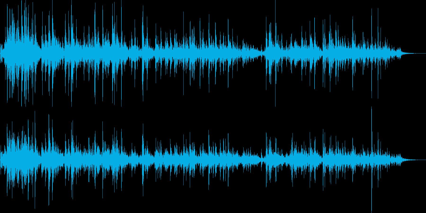 ぶくぶく03の再生済みの波形
