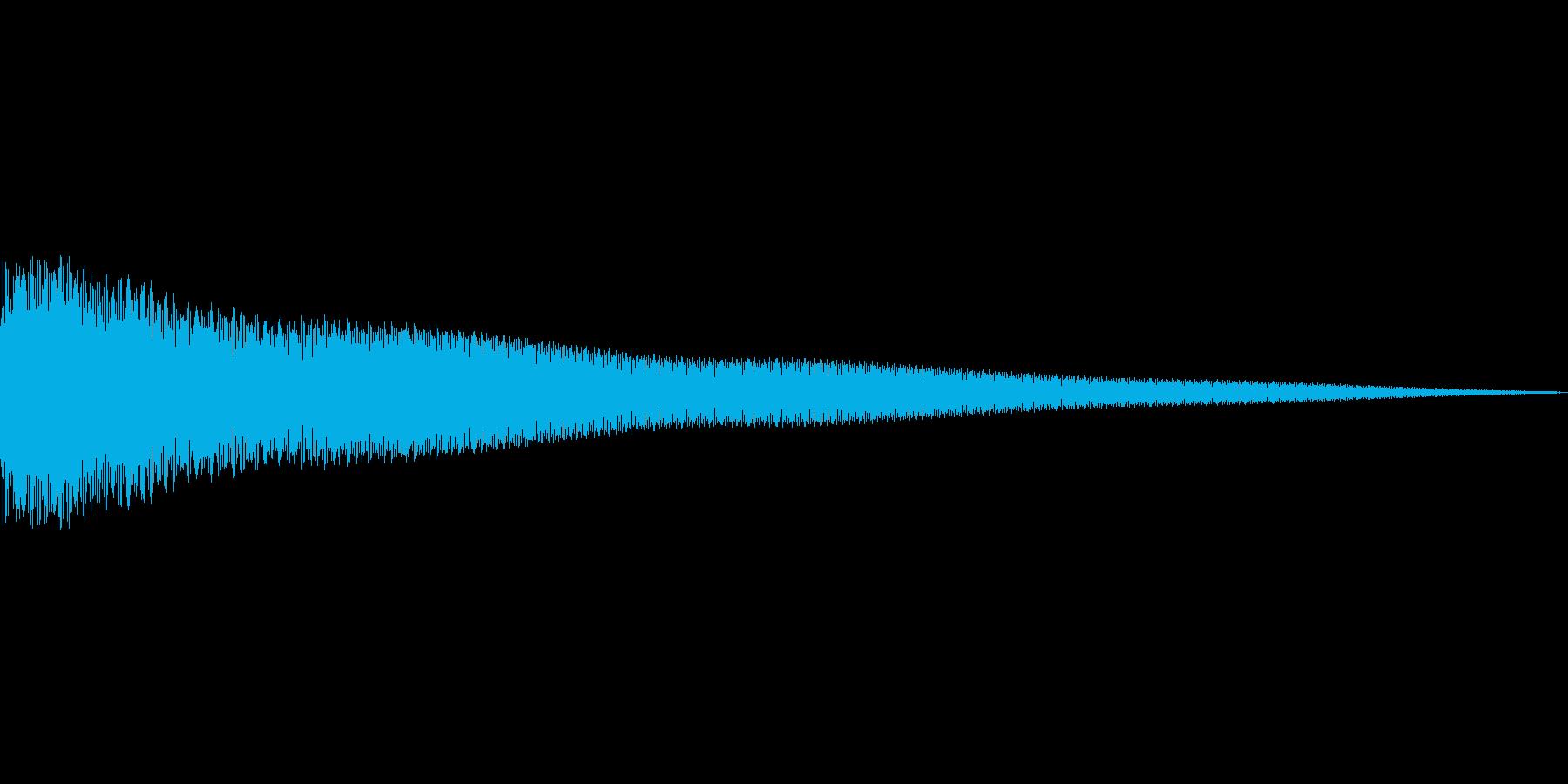 カーンの再生済みの波形