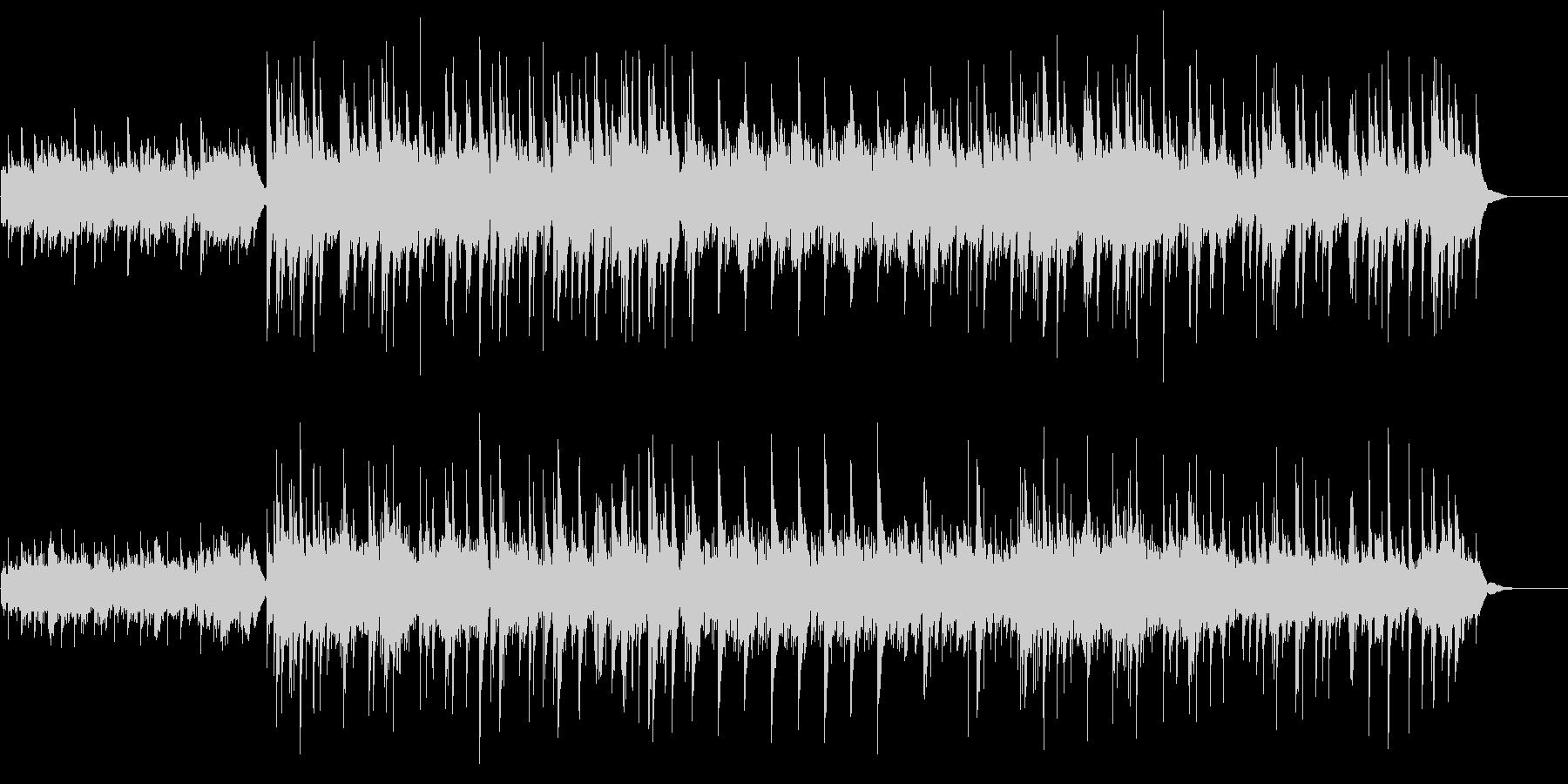 ケルト風、アコギとピアノの未再生の波形
