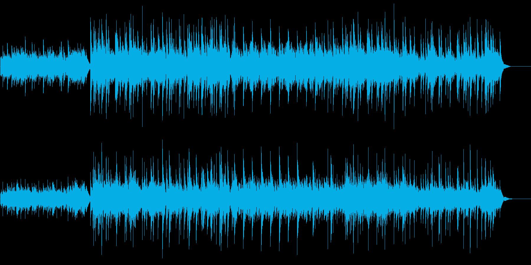 ケルト風、アコギとピアノの再生済みの波形
