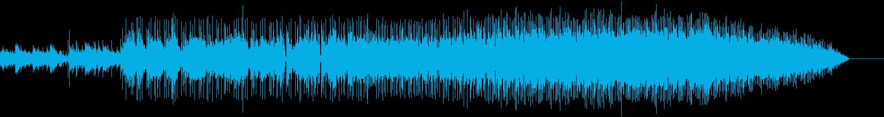 アコギから静かに始まり、パートがどんど…の再生済みの波形