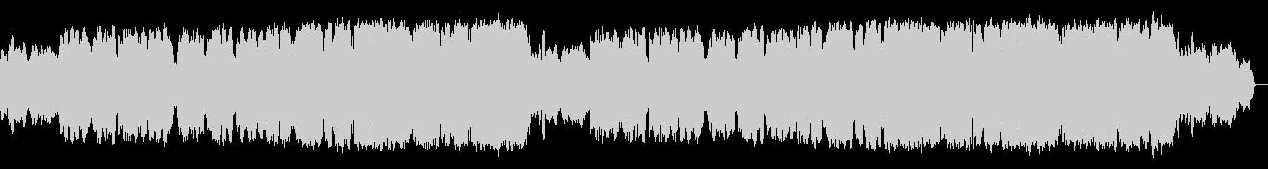 クラリネットが奏でる切ないロカバラ歌謡曲の未再生の波形