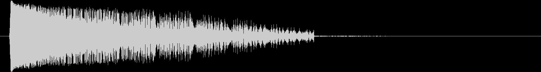 ケタケタケタ↓(笑い声、鳴き声、おばけ)の未再生の波形