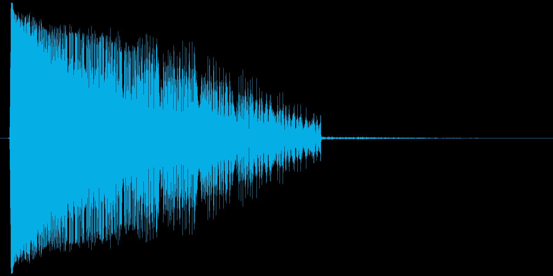 ケタケタケタ↓(笑い声、鳴き声、おばけ)の再生済みの波形