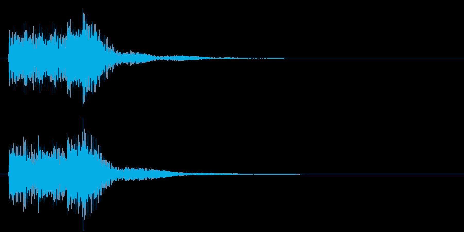 レベル・ステータス変化な効果音 4の再生済みの波形