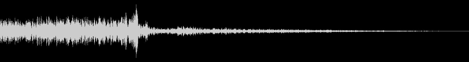 メニュー画面音(ウインドウ,決定等)10の未再生の波形