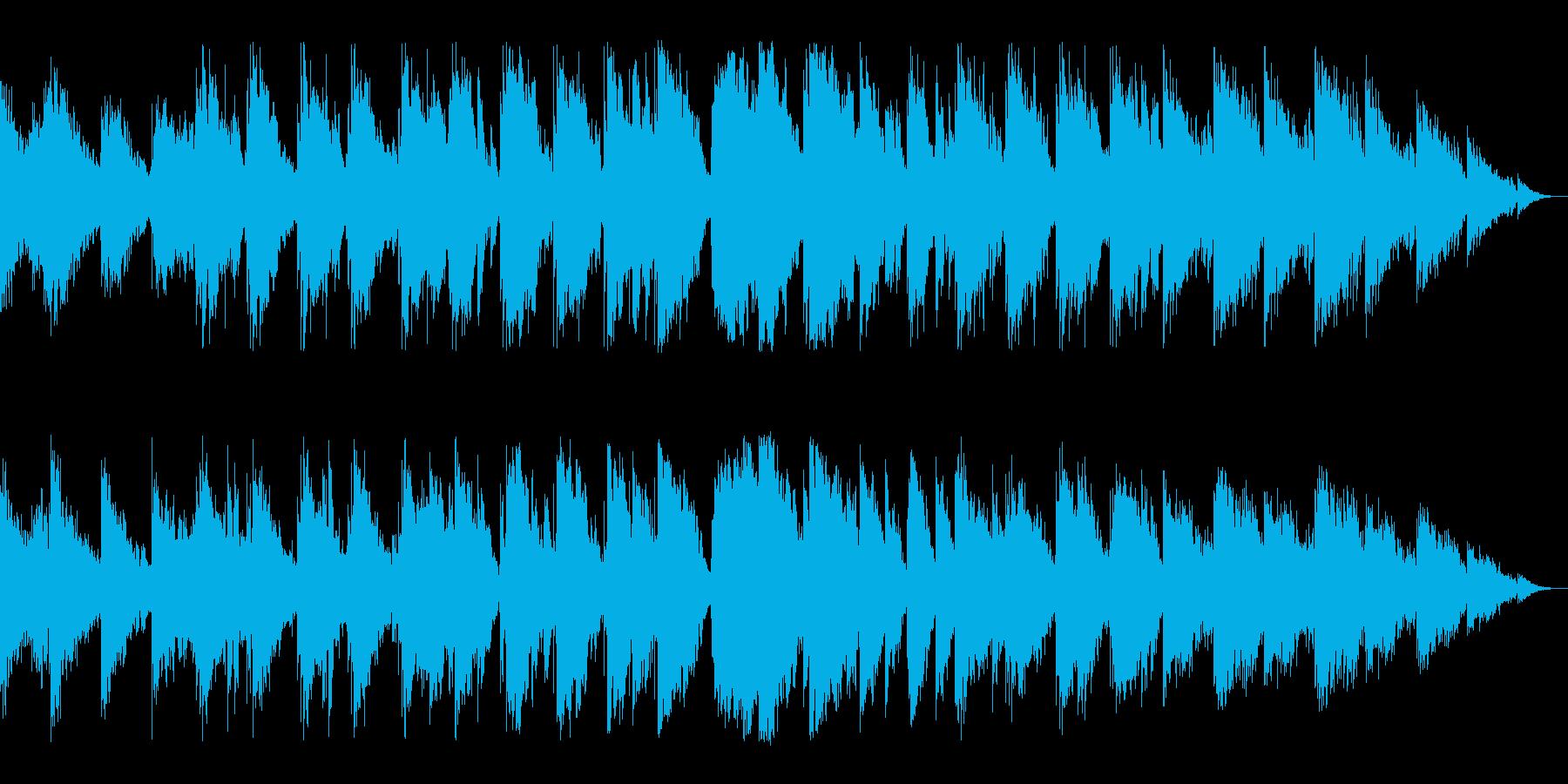 【ピアノ】ドキュメンタリー映像企業向けの再生済みの波形