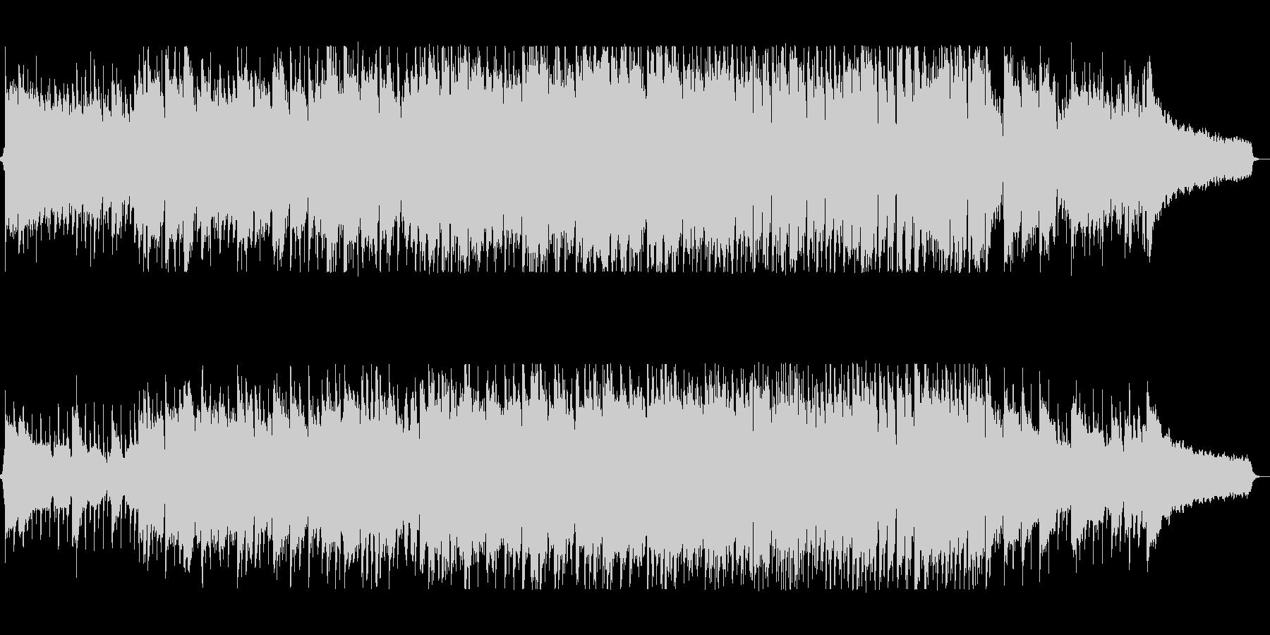 ギターとピアノの70sフォークポップスの未再生の波形