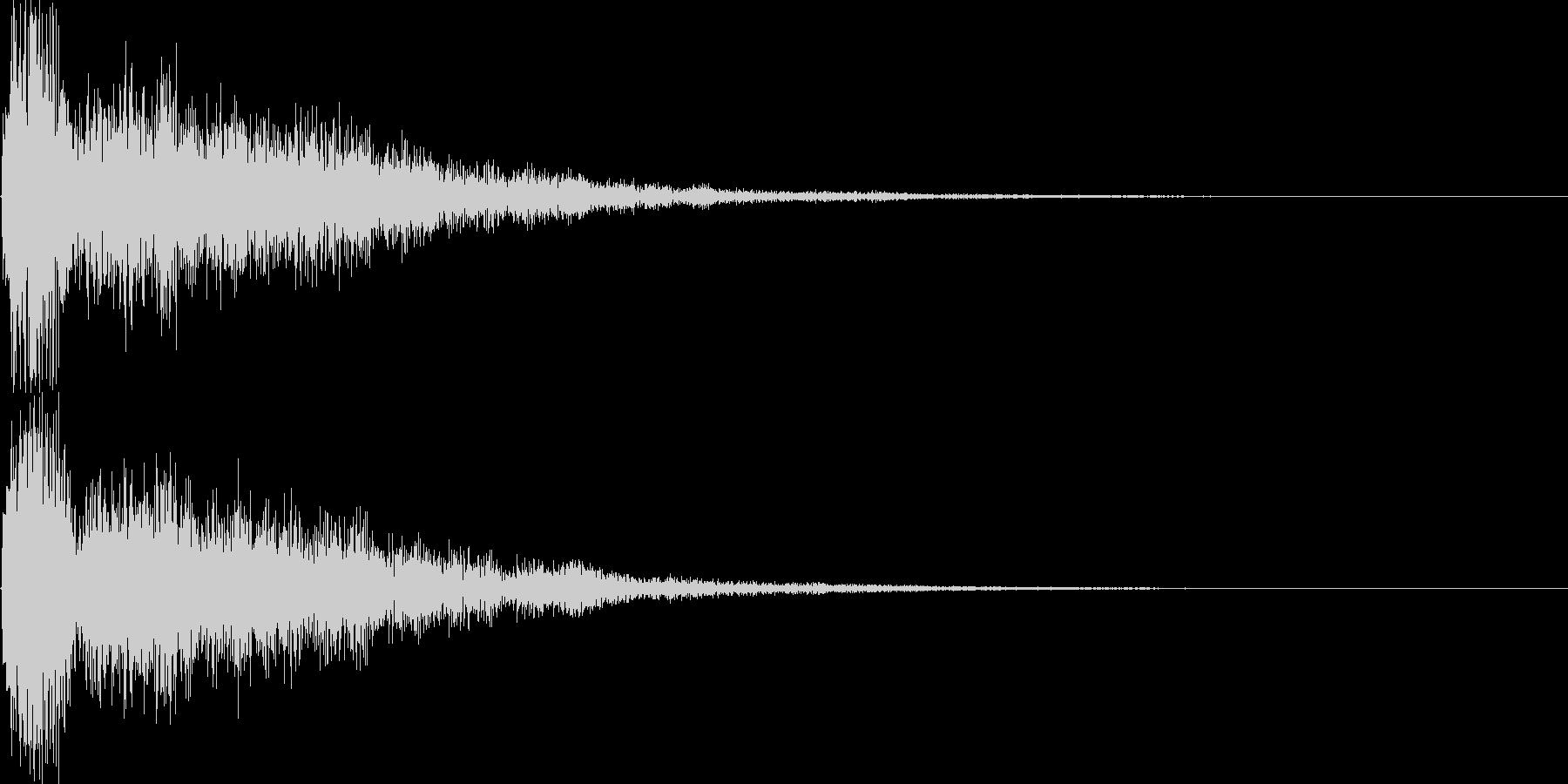 シンセ音(アプリ、サウンドロゴ等に)の未再生の波形