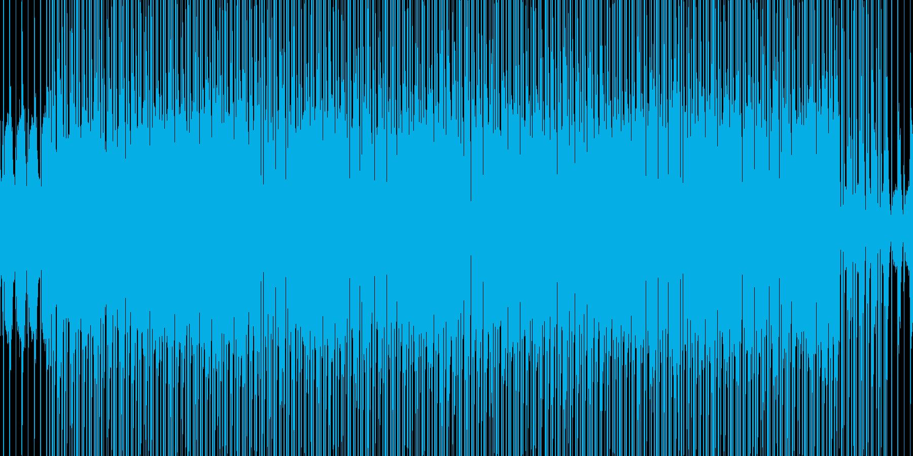 商業用BGM(ポップ)の再生済みの波形