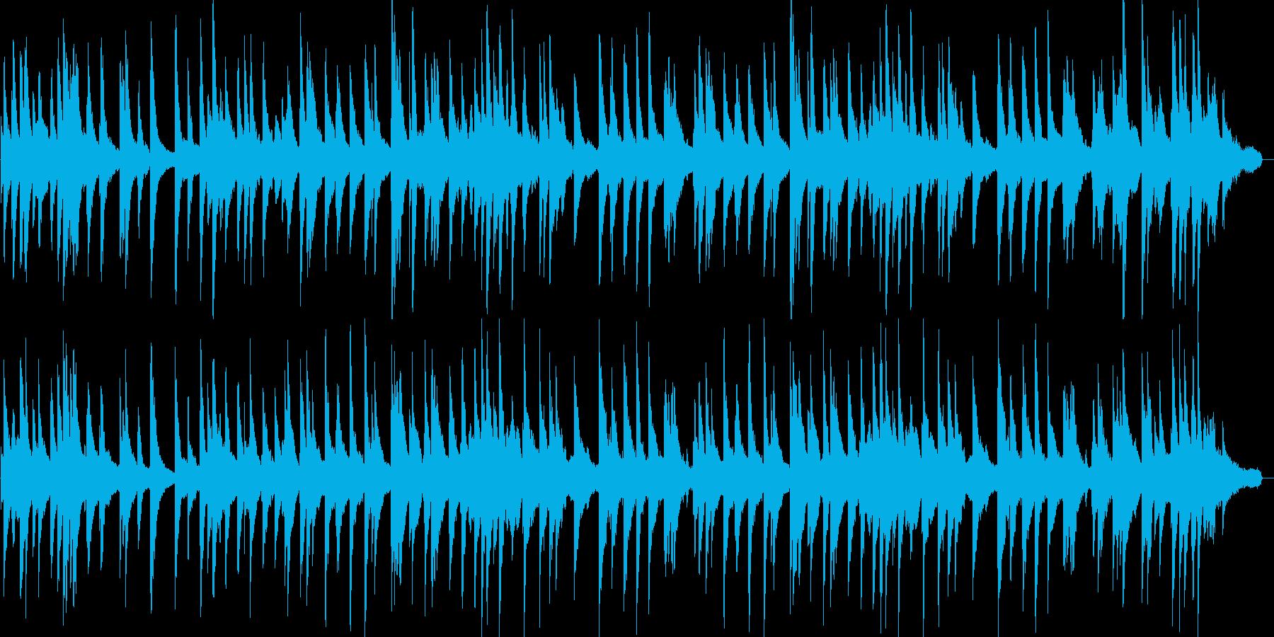 リラックス・おしゃれ・ピアノ・ジャズの再生済みの波形