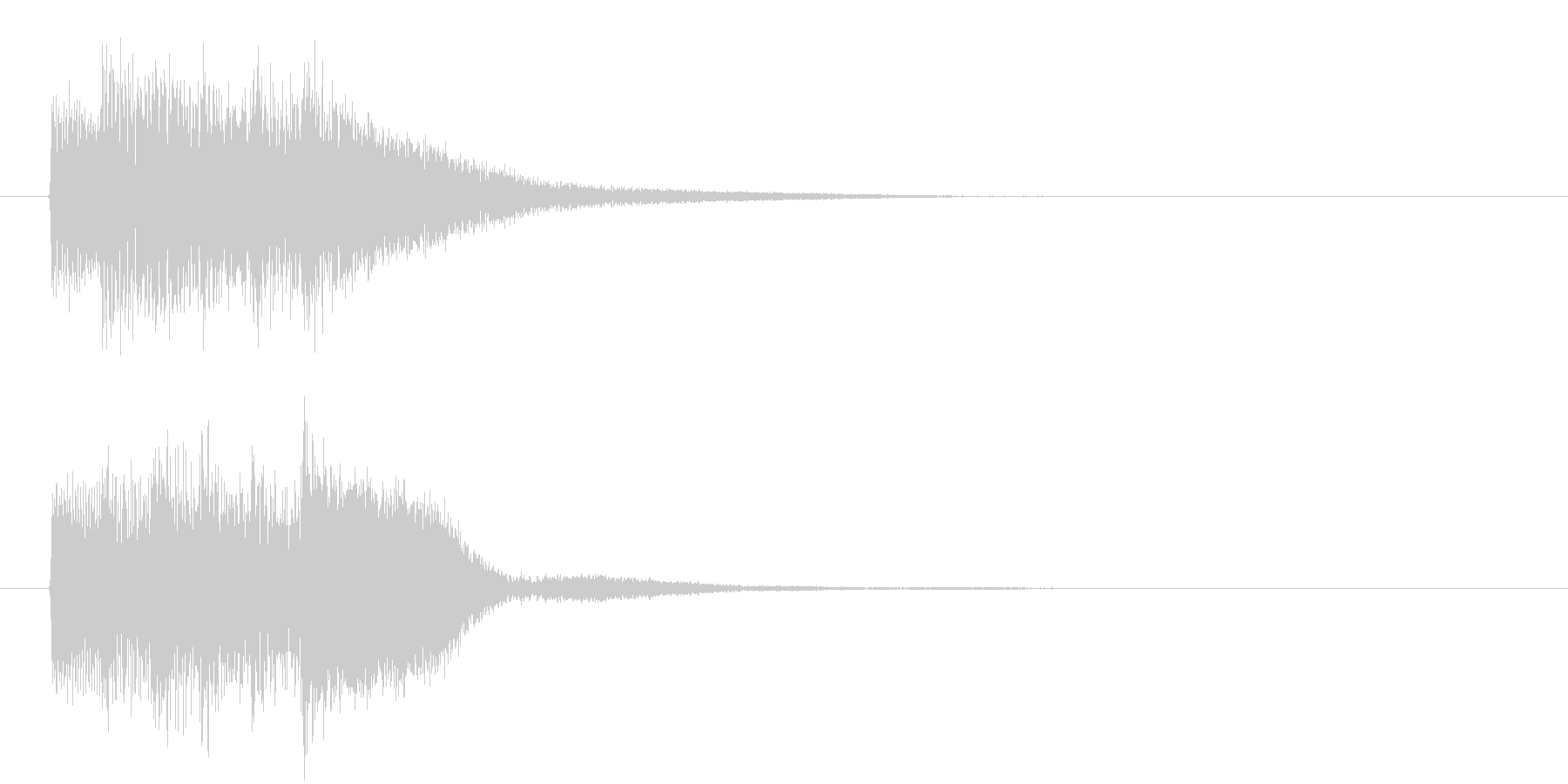 レベル・ステータス変化な効果音 2の未再生の波形