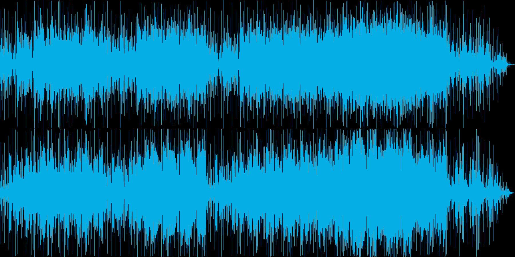 爽やかで疾走感あふれる心弾むBGMの再生済みの波形