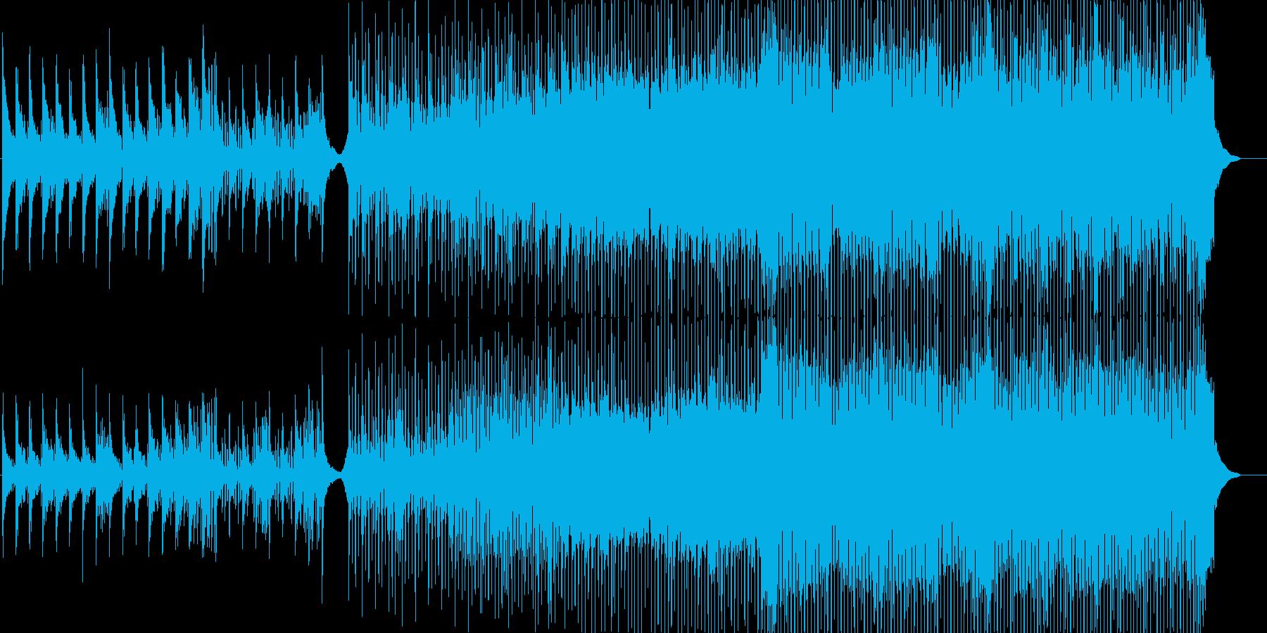 ジャズのEDMです。の再生済みの波形
