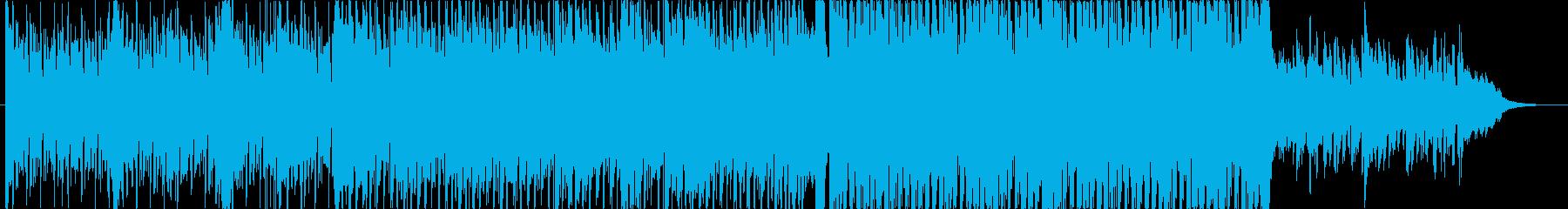 エレピとピアノによるメロディアスなハウスの再生済みの波形