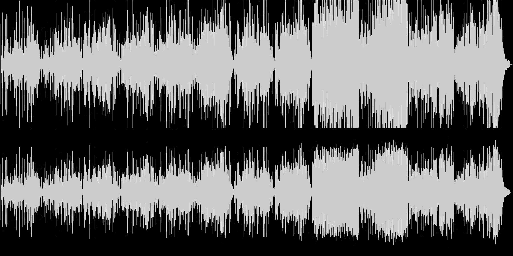 バッハのアレアをクラシックギターアレンジの未再生の波形