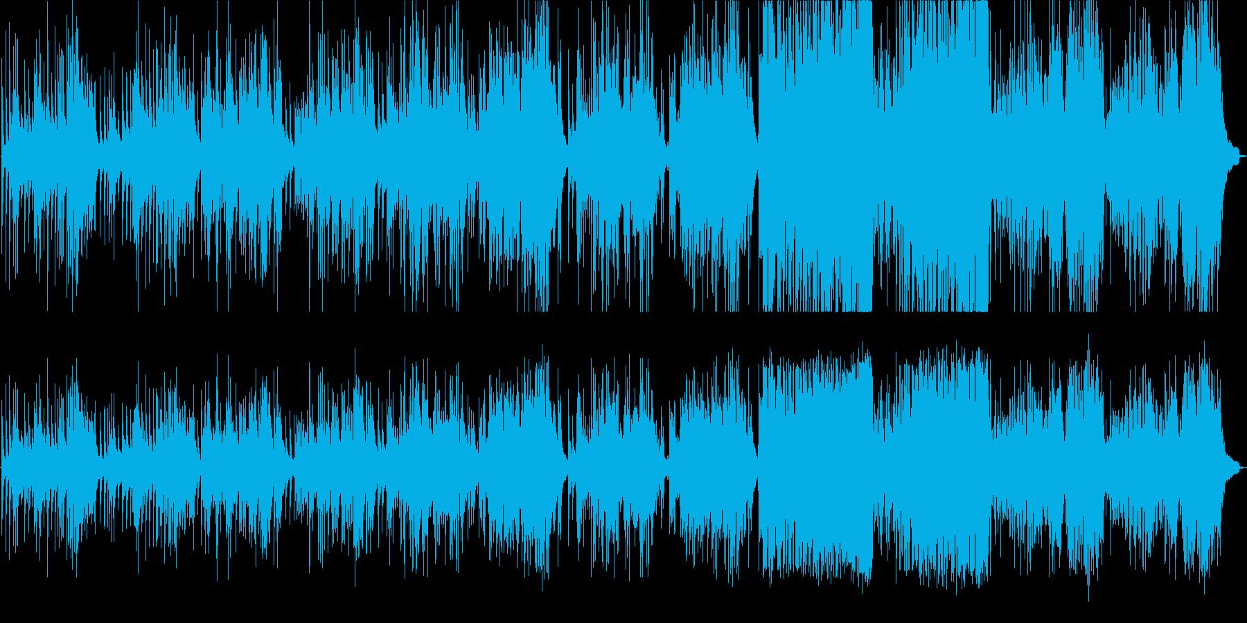 バッハのアレアをクラシックギターアレンジの再生済みの波形