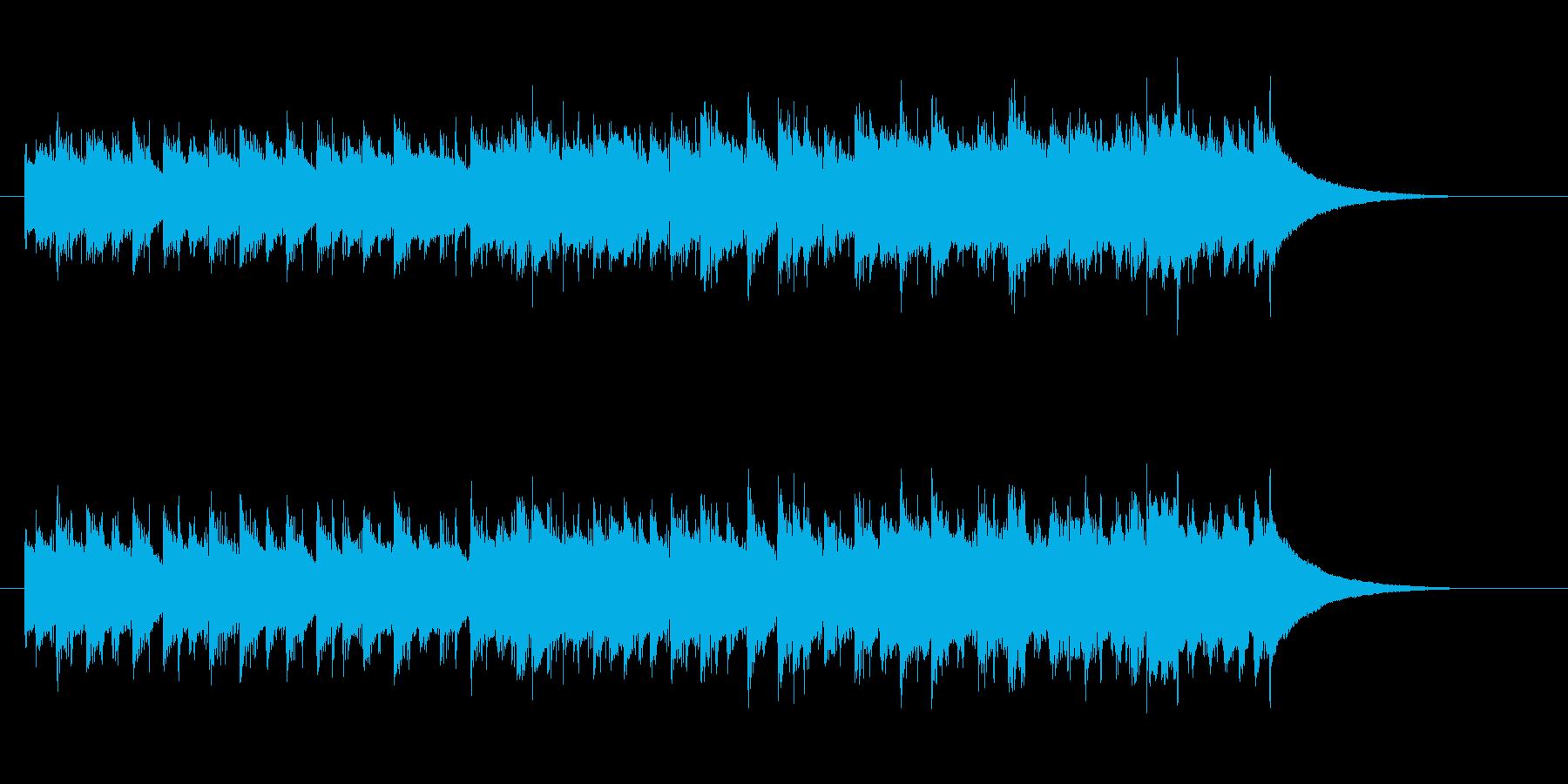 お洒落なヨーロピアン・メロディーの再生済みの波形
