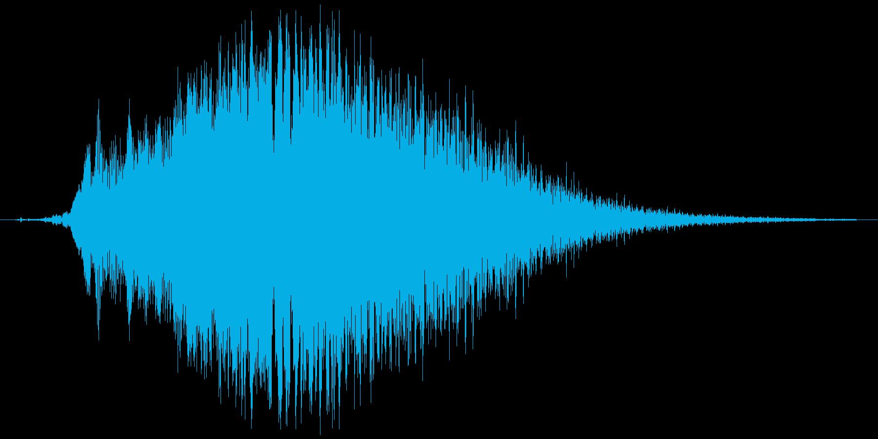 (おばけの呪文)の再生済みの波形