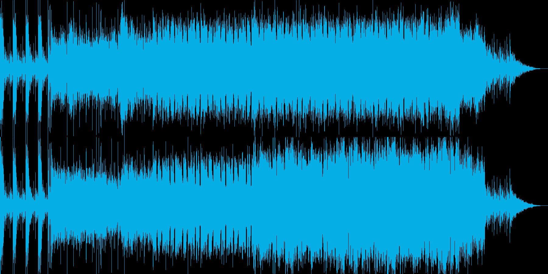 オープニング向きの勇壮な曲です。の再生済みの波形