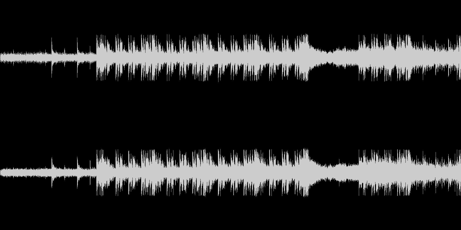 和風ループ音源【-20dBFS】の未再生の波形