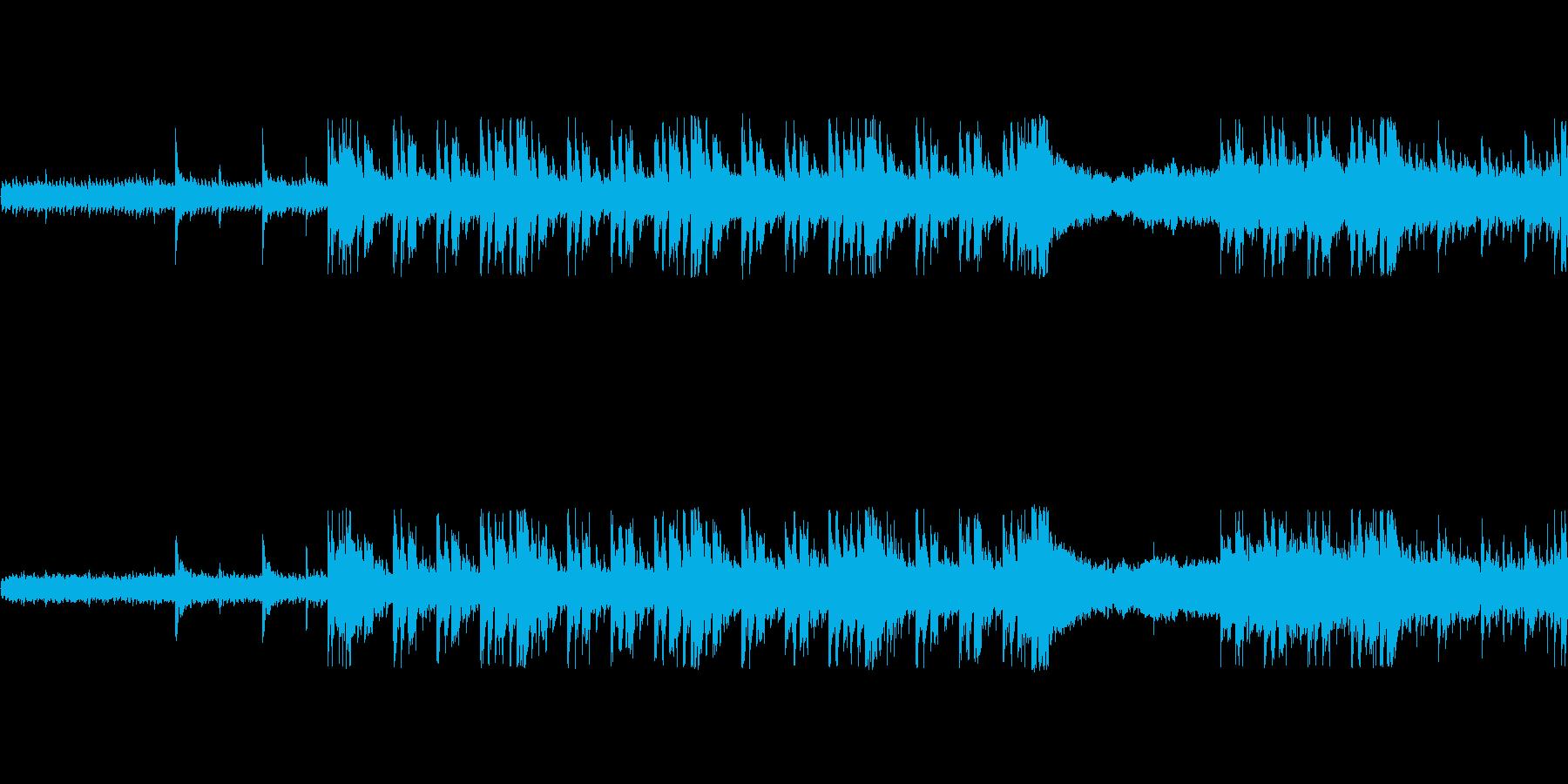 和風ループ音源【-20dBFS】の再生済みの波形