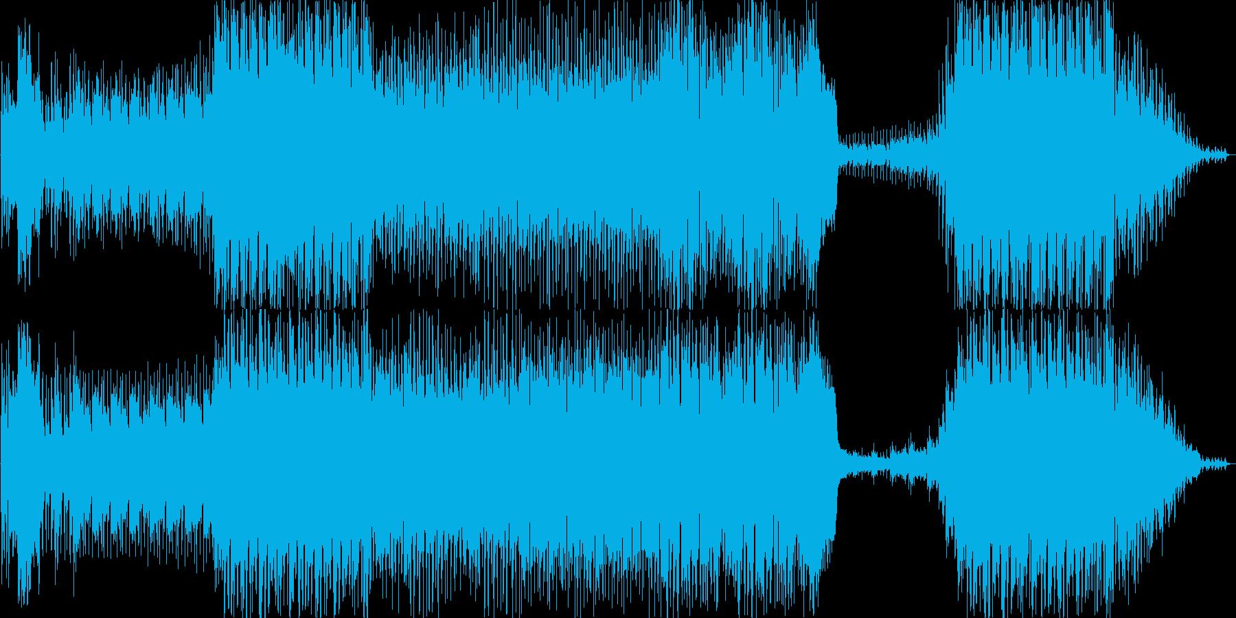 ファンタジーRPGの中ボスぐらいの戦闘…の再生済みの波形