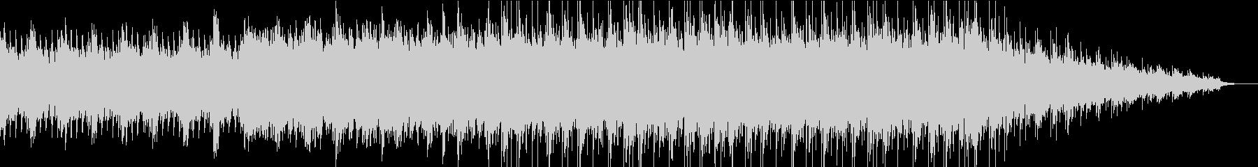 爽やかな響きのアンビエントなpianoの未再生の波形