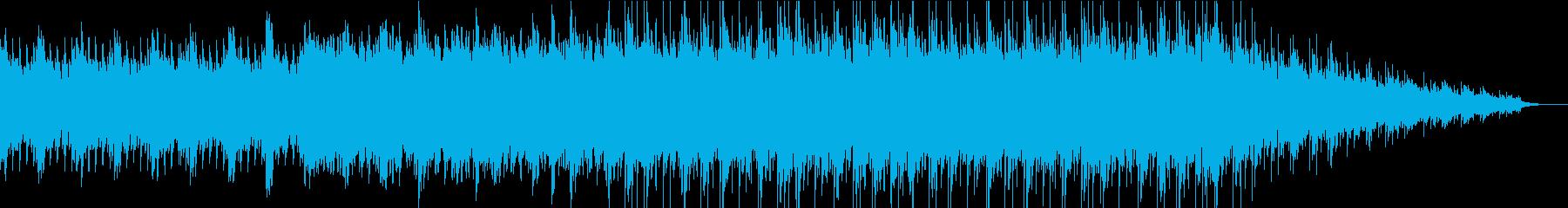 爽やかな響きのアンビエントなpianoの再生済みの波形