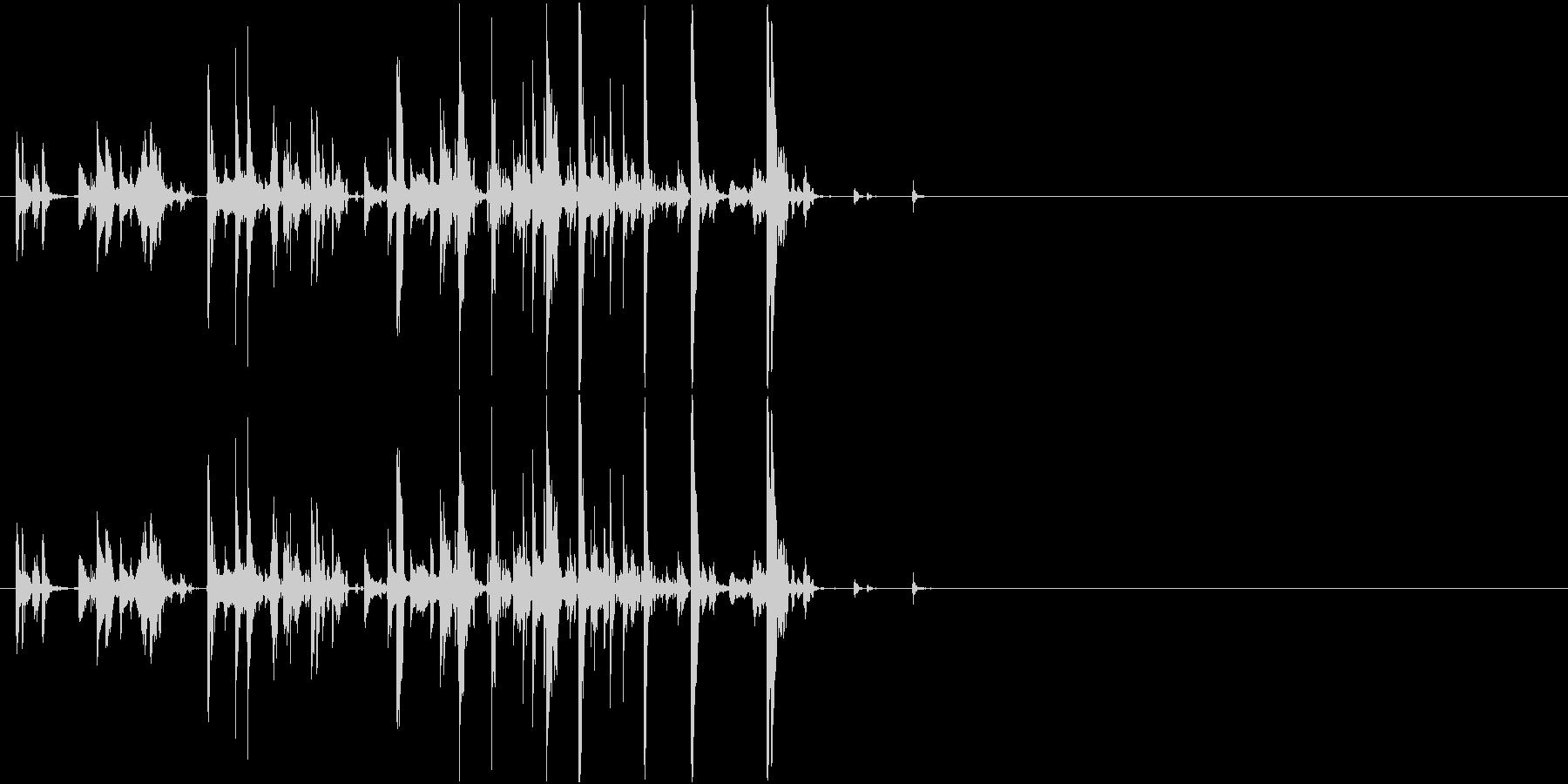 Suzu 鈴の音色 猫の首輪 ペットの未再生の波形