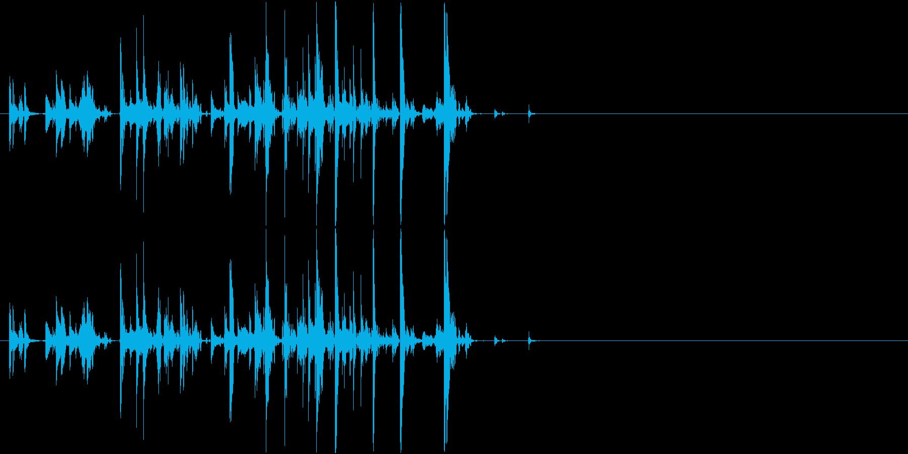 Suzu 鈴の音色 猫の首輪 ペットの再生済みの波形