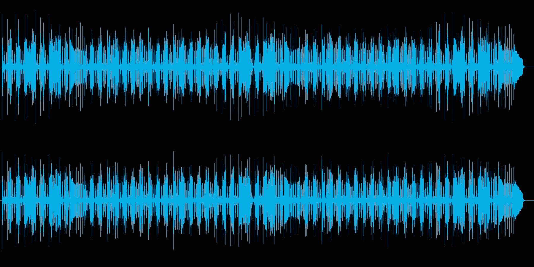軽快なリズムのピアノポップスの再生済みの波形