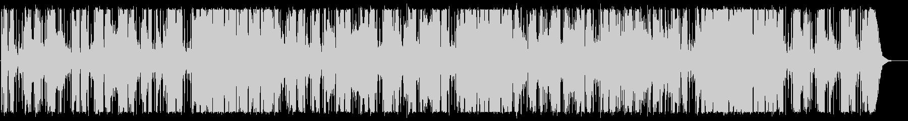 エレキギターが切ない大人雰囲気のBGMの未再生の波形