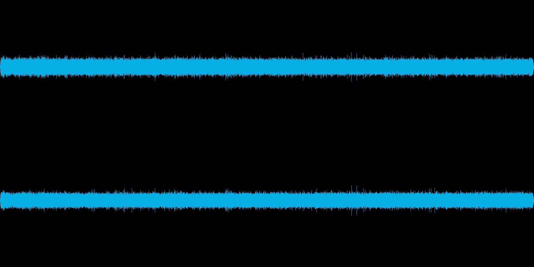 排水の流れる音です。の再生済みの波形
