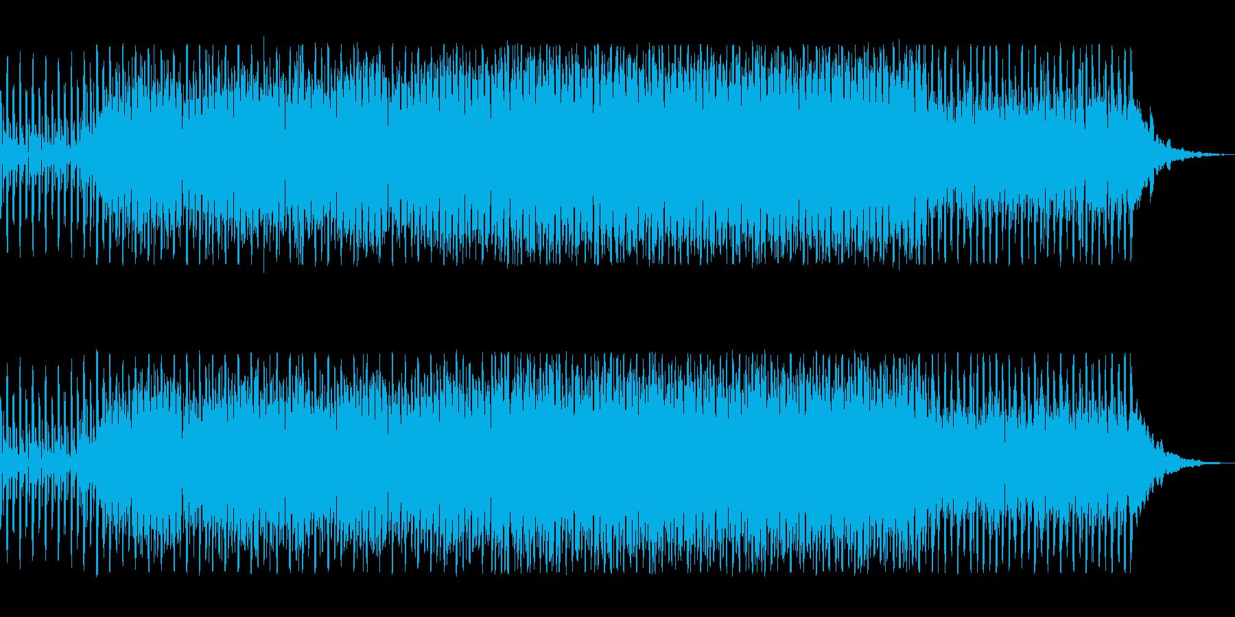 明るく前向きな始まりを思わせるBGMの再生済みの波形