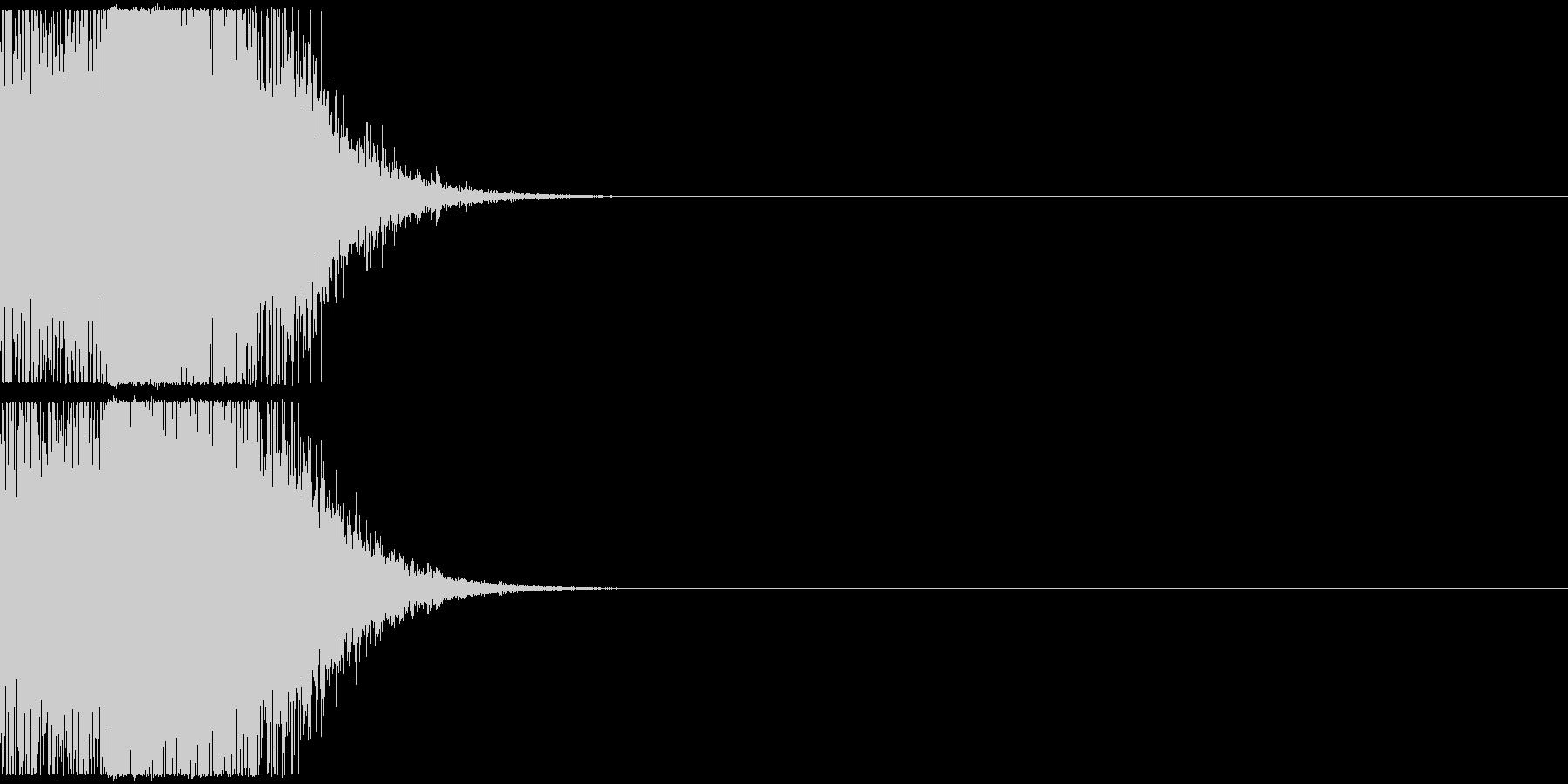 クイズ 面白い ワンポイントの未再生の波形