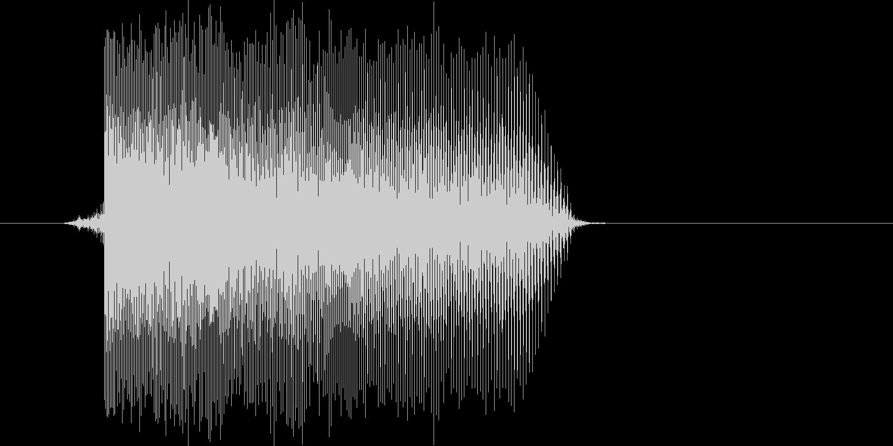 ゲーム(ファミコン風)レーザー音_016の未再生の波形