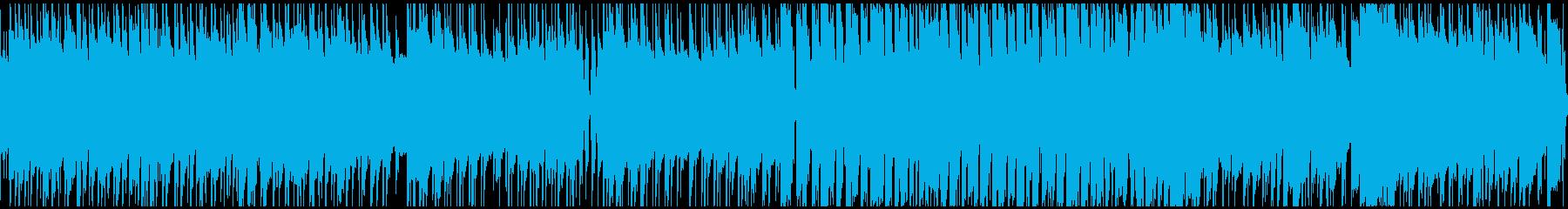 海やビーチをイメージしたBGMの再生済みの波形