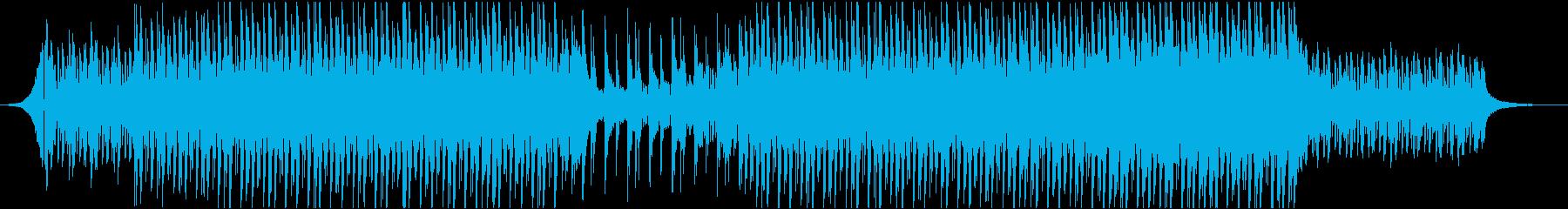 エレキギター ピアノ クール 映像用の再生済みの波形
