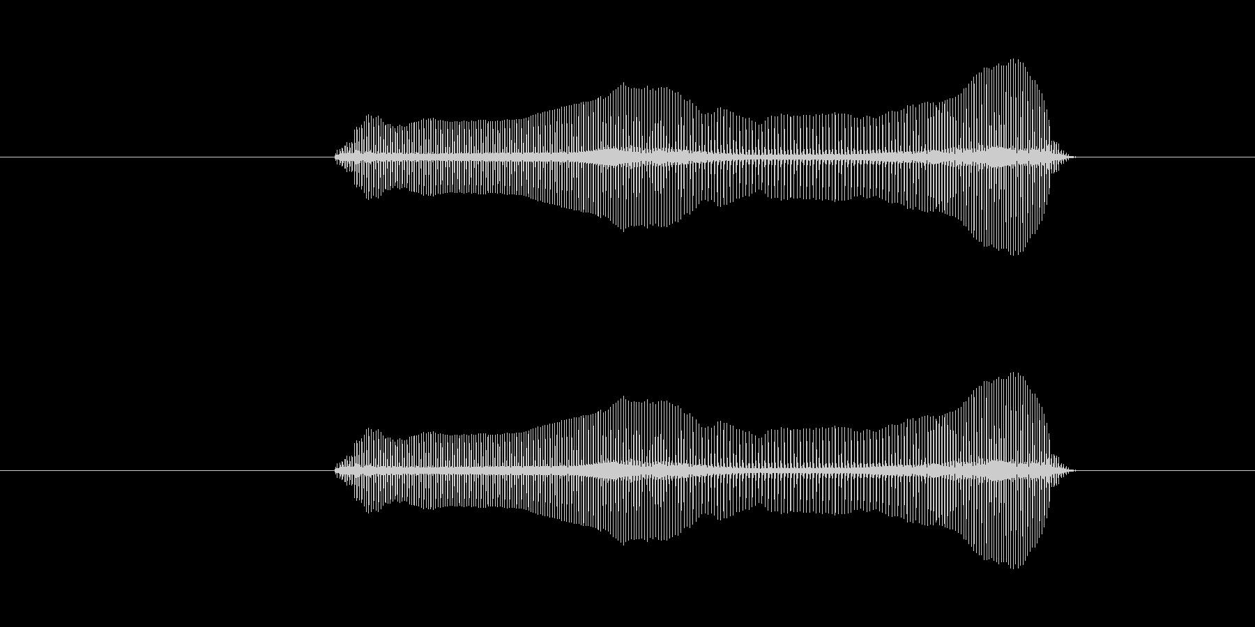 トロンボーンあるあるフレーズBPM200の未再生の波形