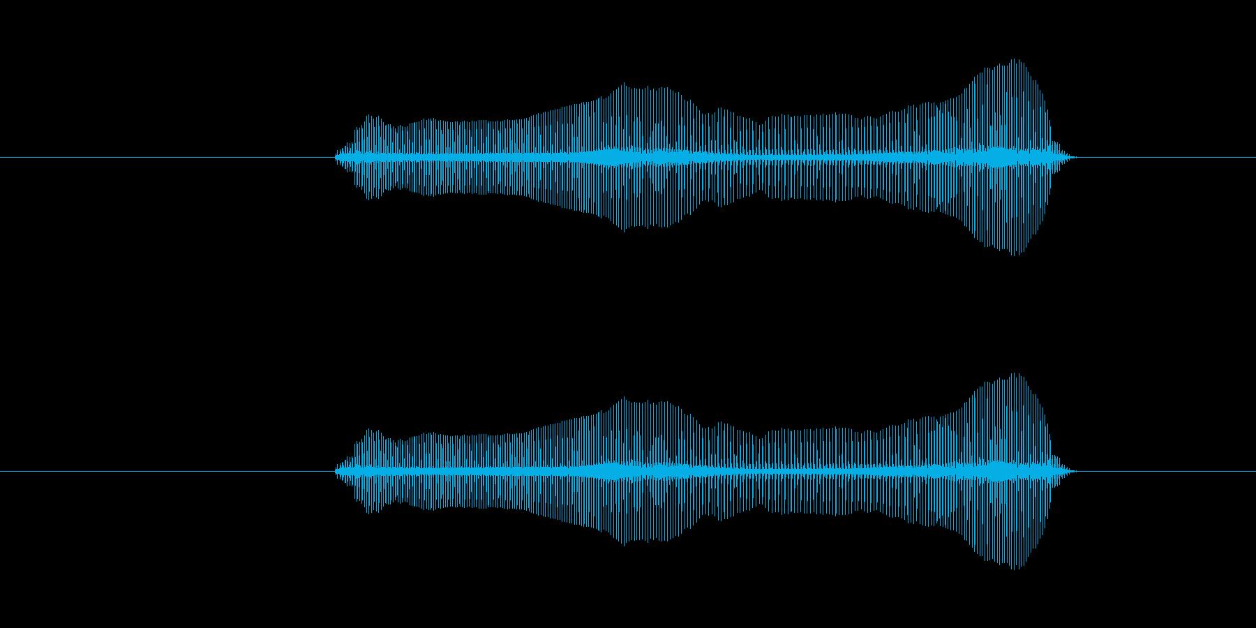 トロンボーンあるあるフレーズBPM200の再生済みの波形