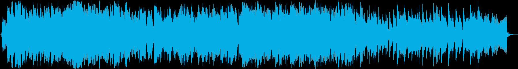 ピアノ フルート 優しい エンディングの再生済みの波形