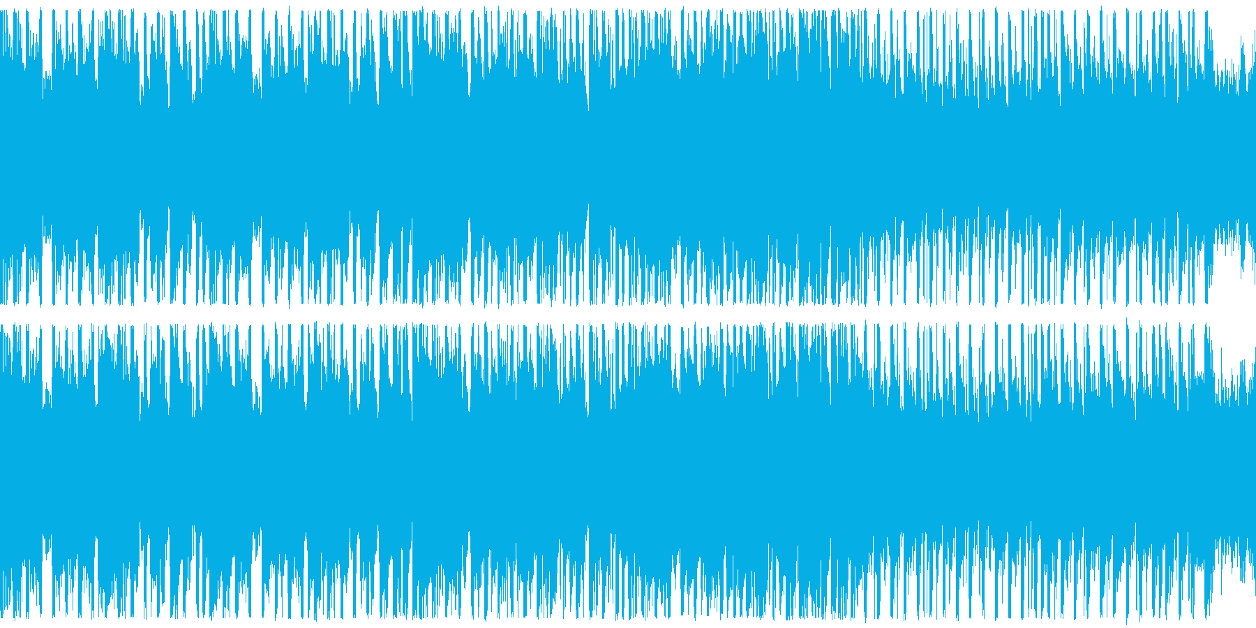 ループ,ハイテンションRPGバトルの再生済みの波形
