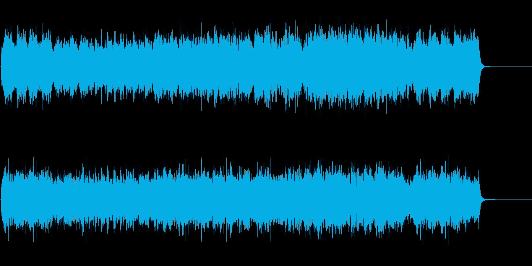 クリスマス メルヘン ほのぼの かわいいの再生済みの波形