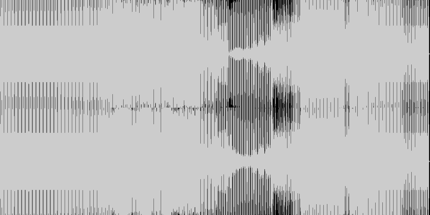 minimal house 38 の未再生の波形